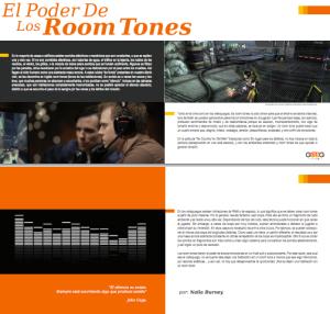 El Poder de los Room Tones