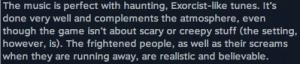 Comentario en Steam
