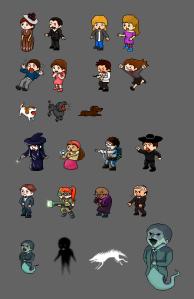 Todos los personajes