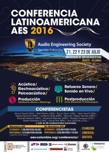 Poster AES Bogota 2016